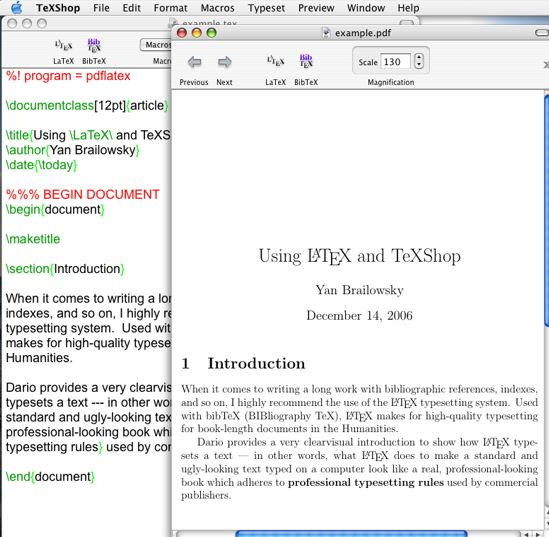 Writing thesis in mac pages